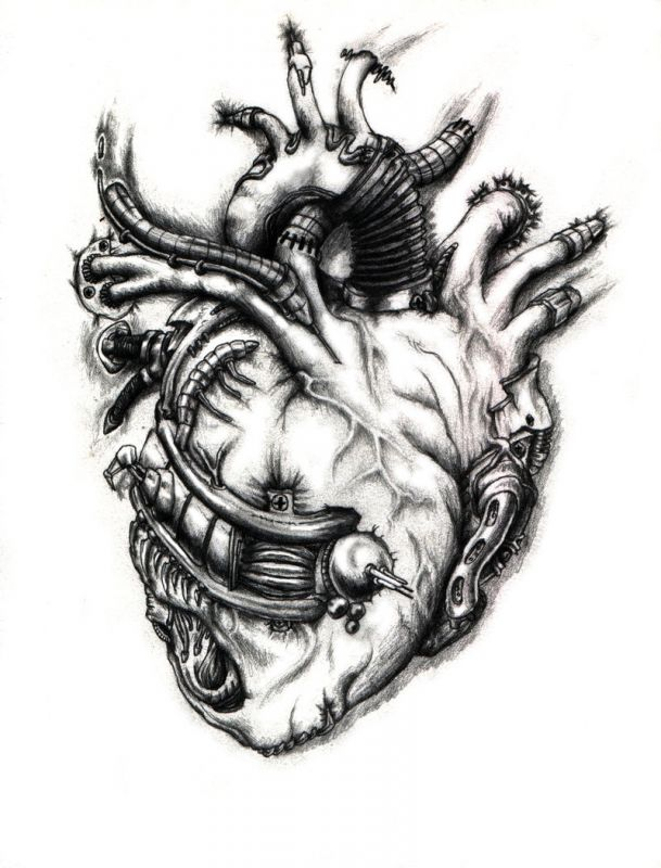 Design with biomechanical heart