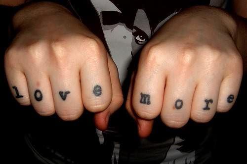 Tattoo love more