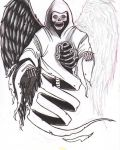 Design with angel of death