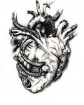 Design with biomechanical heart