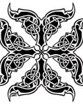 Symbol in celtic style
