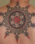 Celtic patterns tattoo