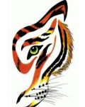 Great tattoo design with tiger