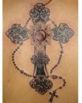 Good tattoo with cross