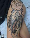 Indian symol tattoo