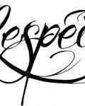 Recpect tattoo design