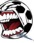 Soccer with teeth