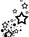 Design with stars and spots