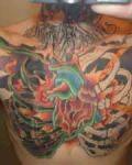 Big chest tattoo