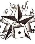 Star and dices