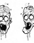 Two face of zombie
