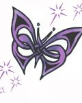 Nice design with butterfly