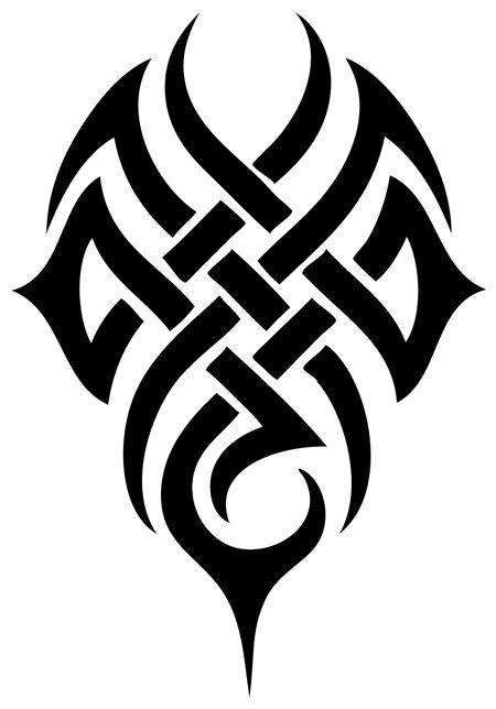 Popular tribal design
