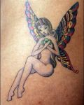 Fairy with colourfull wings